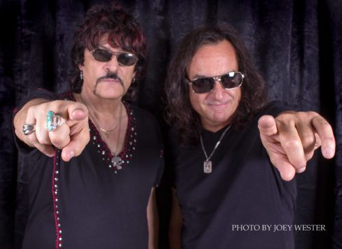 "(Photo by Joey Wester) There's something ""sinister"" on the way from a project formed by two legendary figures in the rock and metal worlds...and they just happen to be brothers who are both drummers. Appice is the name, and Carmine and Vinny have signed to the SPV/Steamhammer label to put together a debut album under their new moniker....   #Classic Hard Rock #Classic Metal #Modern Hard Rock #Modern Metal #News #Appice"