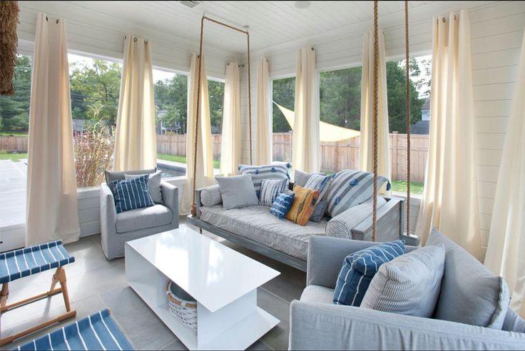 Σπίτι και κήπος διακόσμηση: 25 Ιδέες με κούνιες βεράντας για ατελείωτη χαλάρωση