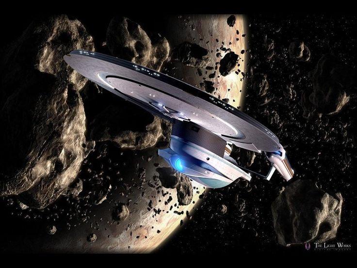 "Star Trek Enterprise Wallpaper   The lost Enterprise, circa STNG episode "" Yesterday's Enterprise ..."
