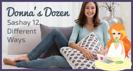 Twelve free patterns with new ways to use Boutique Sashay!