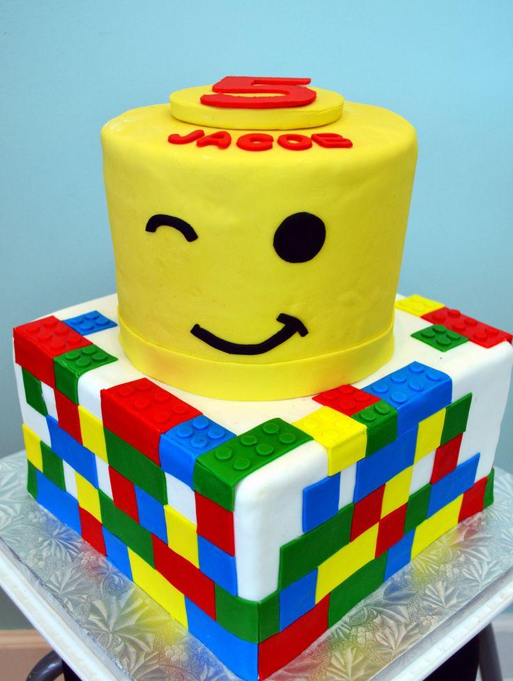 Birthday Cake Ideas Lego : 271 best Lego Birthday Cakes images on Pinterest Lego ...