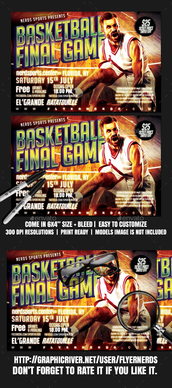 #Basketball #Final #Game #Sport #Flyer #Template - #Sports #Events #Design. Download here: https://graphicriver.net/item/basketball-final-game-sports-flyer/19828821?ref=yinkira