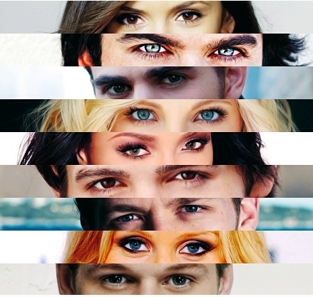 Beautiful eyes from the TVD cast!!!!!!! <3