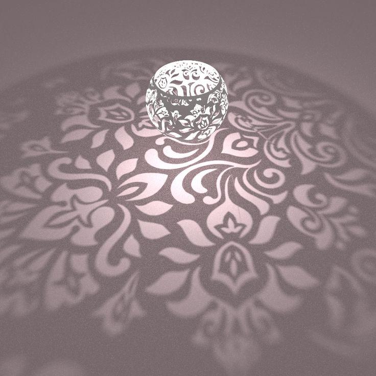 Stereographic Lamp   Jason Cole   2014