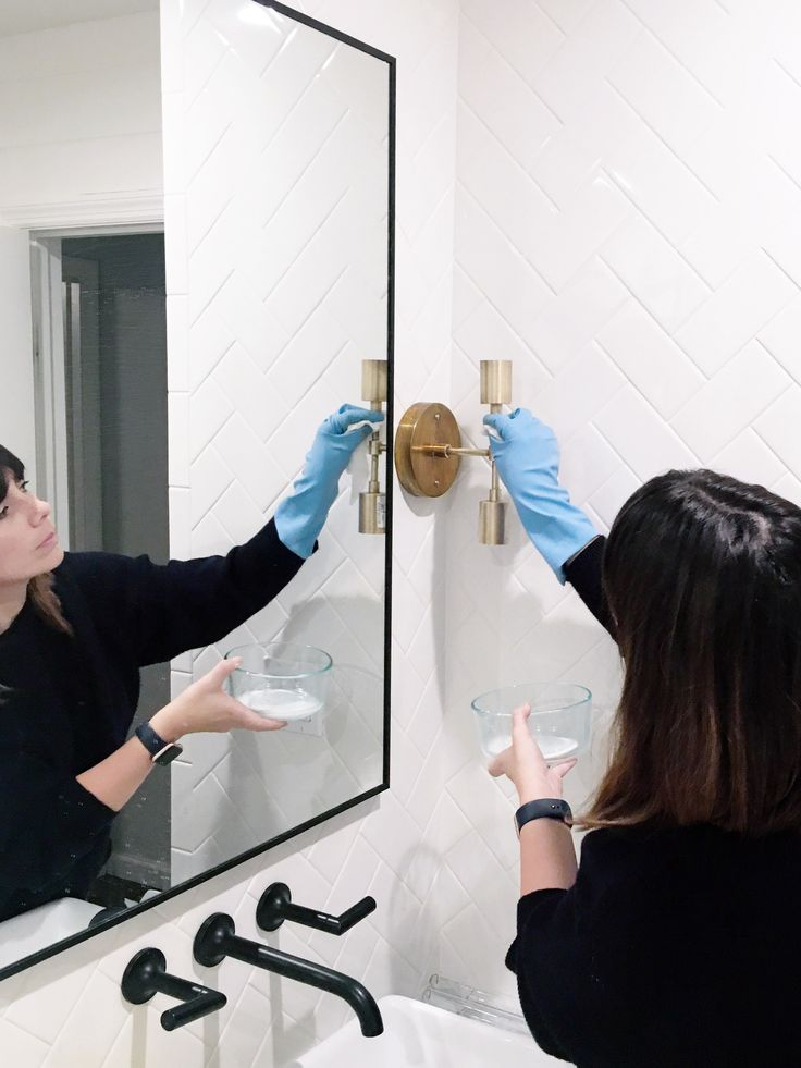 how to clean brass with household products