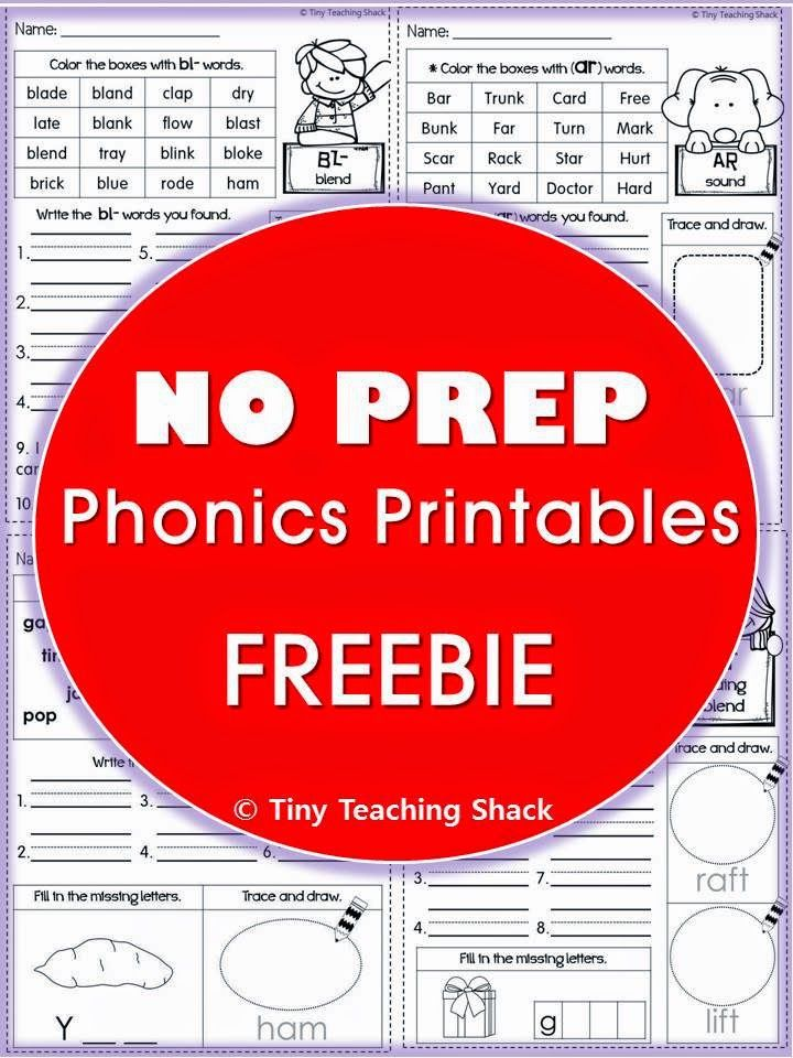 Tiny Teaching Shack: Order of Teaching Phonics