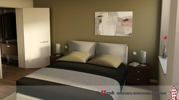 Die Wohnungen Nr. 3, 5 und 7 bieten die Option an das Schlafzimmer einen begehbaren Kleiderschrank anzuschließen.  Da schlagen nicht nur Frauenherzen schneller.