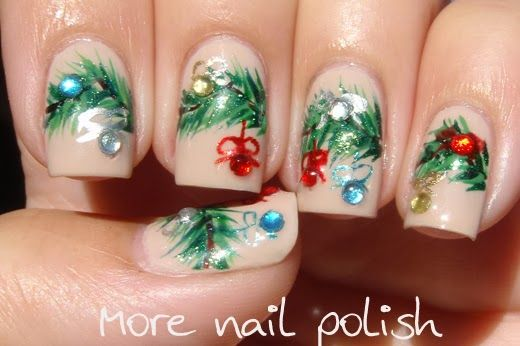 More Nail Polish christmas #nail #nails #nailart