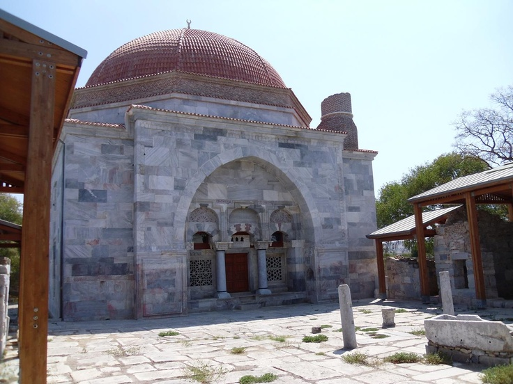 İlyas Bey Külliyesi (complex of buildings adjacent to a mosque), near Milet (Miletus / Miletos) Ancient City, Turkey