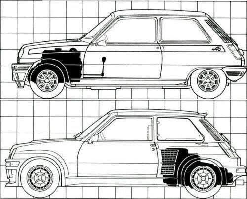Renault 5 Alpine vs Renault 5 Turbo