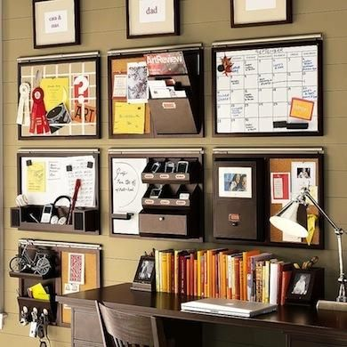 diy wall space office organizer take your planning to