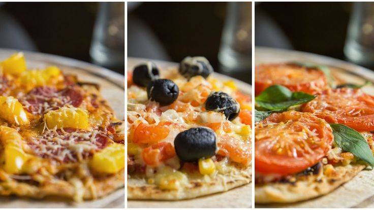 Пицца тортилья 3 вкуса