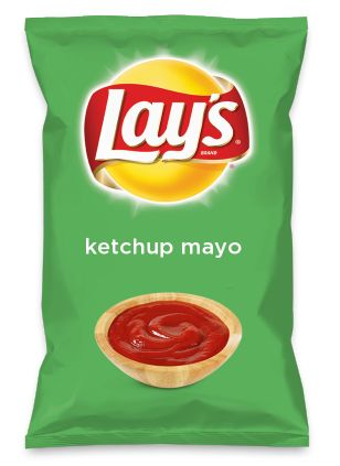 Wouldn't ketchup mayo be yummy as a chip? Lay's Do Us A Flavor is back, and the search is on for the yummiest flavor idea. Create a flavor, choose a chip and you could win $1 million! https://www.dousaflavor.com See Rules.