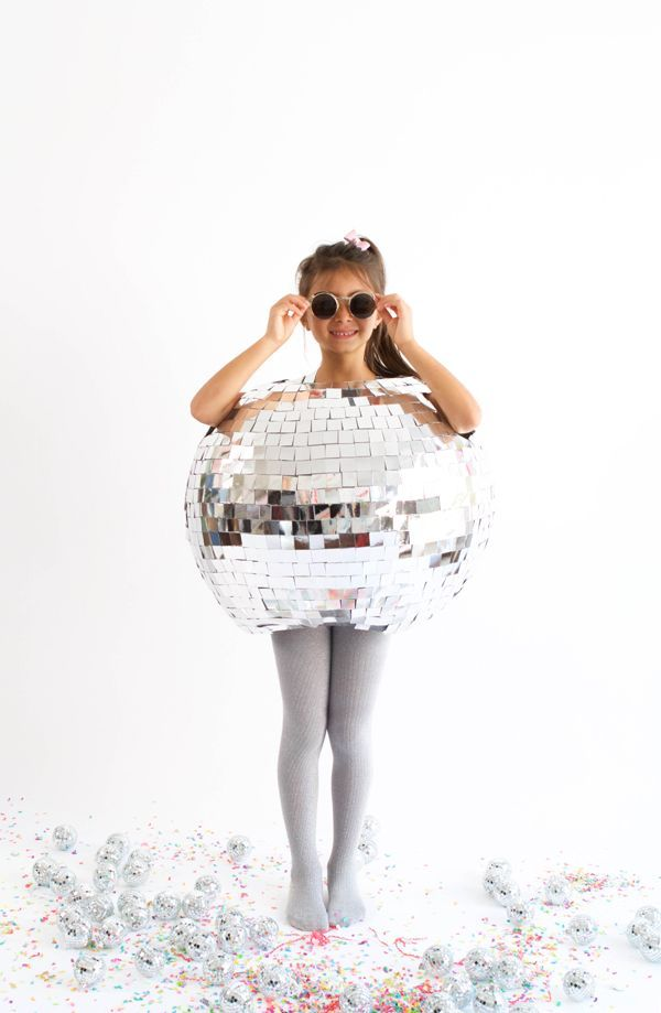 Disfraz de bola de discoteca - Disco Ball Costume by Oh Happy Day!