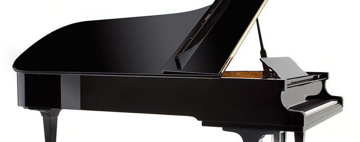 Grand Piano Side View