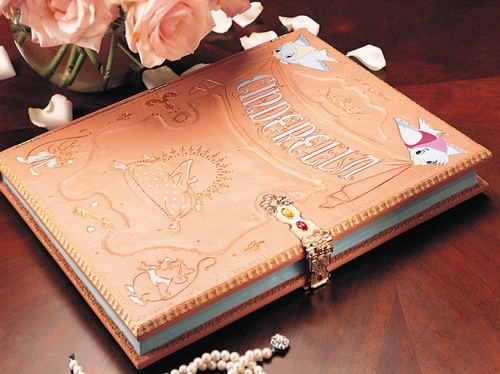 Cinderella book- might have to make something similar. :)