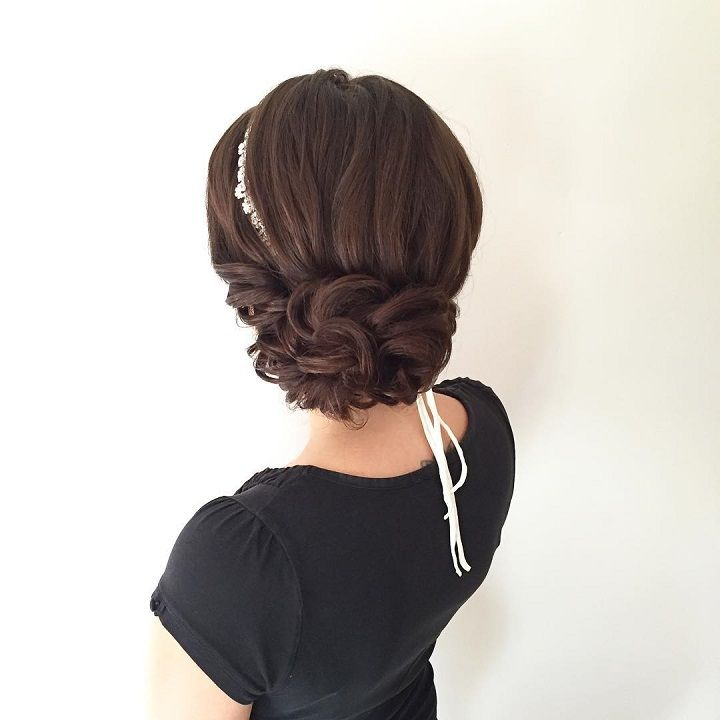 Beautiful Wedding Hairstyle For Long Hair Perfect For Any: 1000+ Ideas About Strapless Dress Hairstyles On Pinterest
