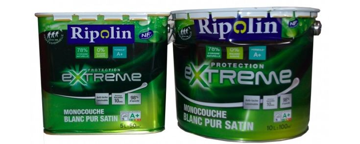 RIPOLIN Extrême Protection Satin chez Peinture Destock - Blog Peinture Destock - Spécialiste du destockage de peintures
