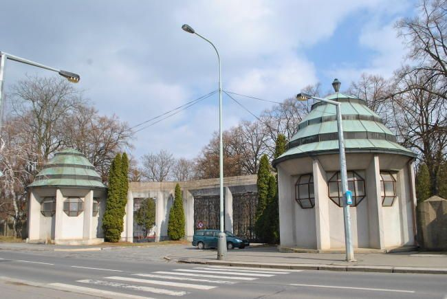 Cimitero di Dablice  - Architetto Vlastislav Hofman - 1912/14 - Praga