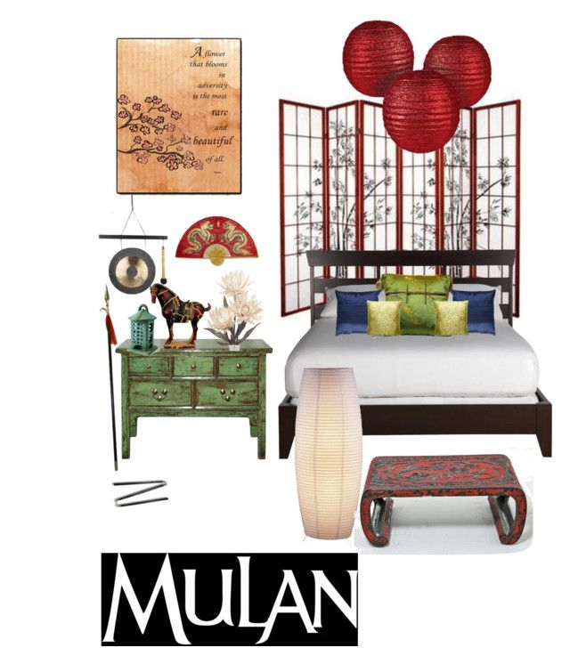 Disneyhome- Warrior Mulan Inspired Bedroom by rachel ...