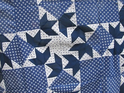ANTIQUE QUILT TOP INDIGO FABRICS PATCHWORK VINTAGE QUILTS HANDMADE QUILT TOPS | eBay: Antique Quilts, Antiques Quilts