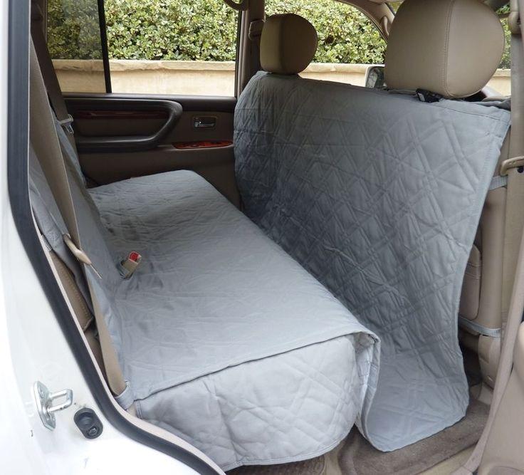 Todoterreno camión coche trasera cubierta de asiento Para Perros Y Gatos. Acolchado Y Acolchado. Gris. Nuevo | Productos para mascotas, Perros, Cobertores para asientos de auto | eBay!