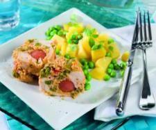 Recept Kuřecí závitky - Recept z kategorie Hlavní jídla - maso