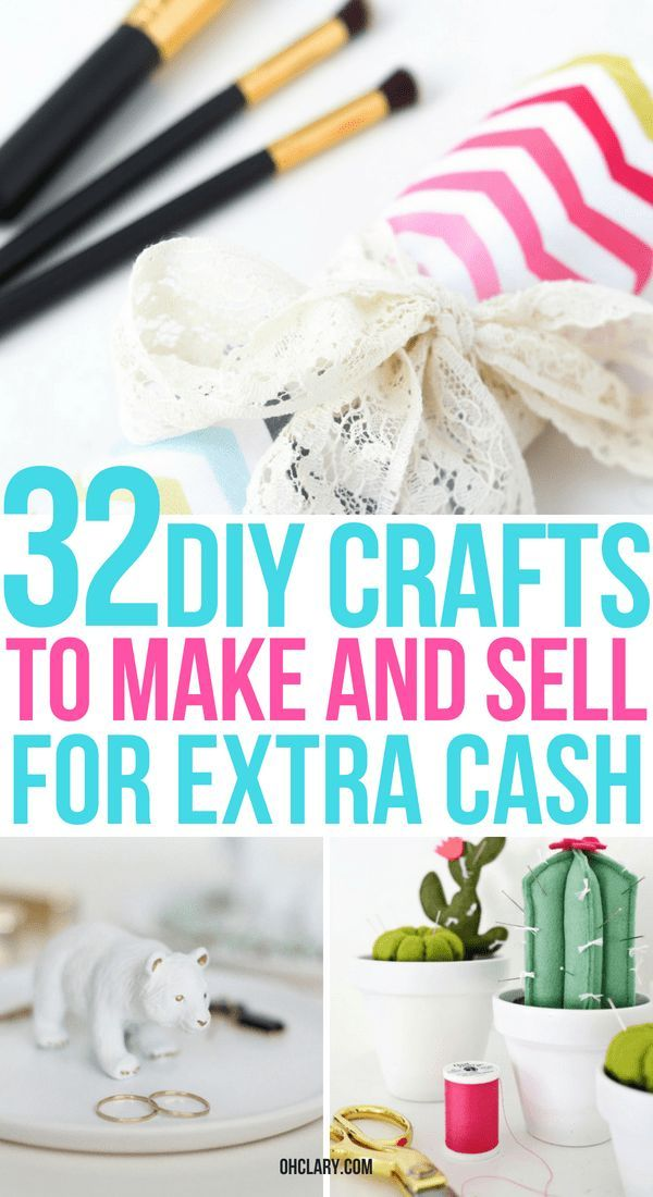 32 Crafts To Make And For Extra Money From Home These Easy Diy Ideas Are Can Be Sold A Profit On Etsy