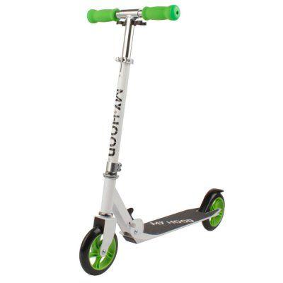 Sparkcykel My Hood 200 Vit/Grön
