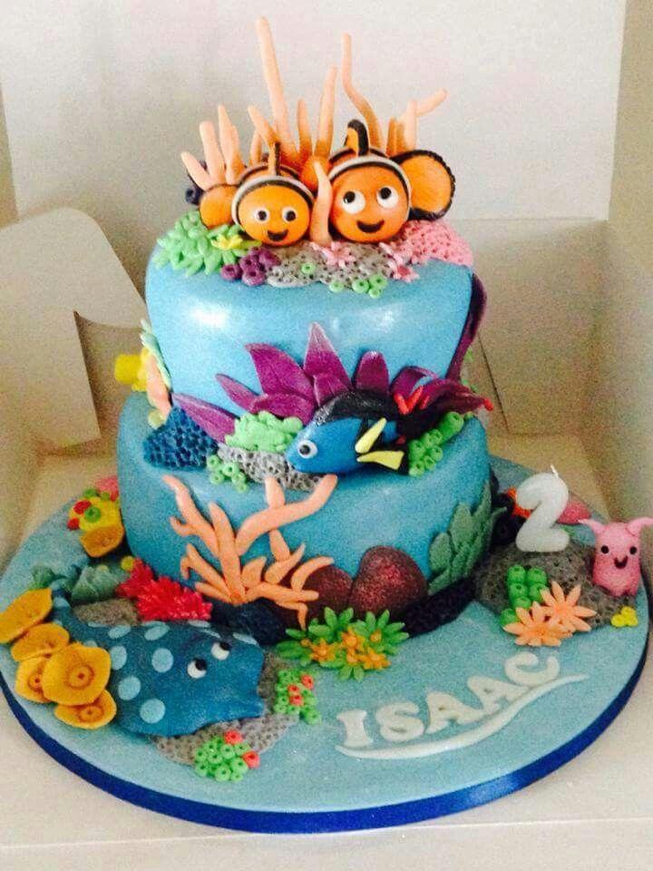 Dora cake nemo cake finding nemo birthday cake cake