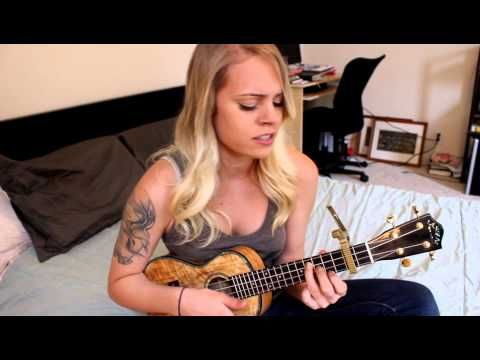 ▶ Can't Help Falling in Love - Elvis Presley Ukulele Cover - YouTube This was our wedding song❤️
