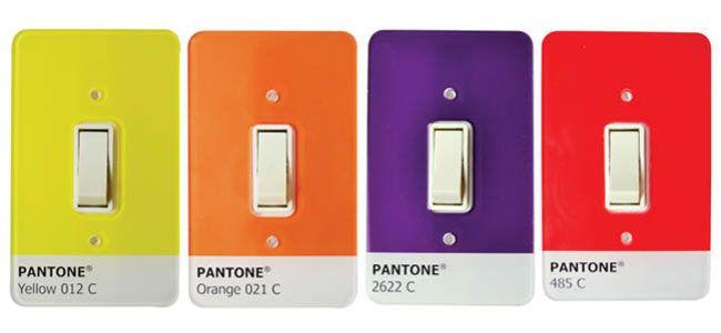 Pantone light switches