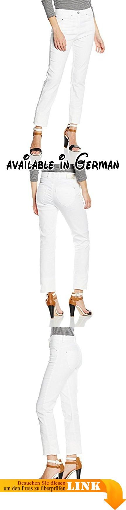 """Raphaela by Brax Damen Skinny Jeanshose 14-6208 Lea (Super Slim), Gr. W29/L32 (Herstellergröße: 38), Weiß (WHITE 99). Zauberjeans: Schlanke Five-Pocket-Jeans in hochelastischer Qualität. Zauberjeans. Diese Five-Pocket-Jeans kann mehr als eine herkömmliche Damenjeans. Das Motto """"Zauberjeans"""" beschreibt alle innovativen Lösungen, die mit einer tollen Silhouette und perfekter Dehnbarkeit überraschen. Durch dynamische Bundlösungen und ausgefeilte Schnitttechniken können"""