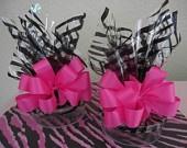 Set of 20 ZEBRA PRINT Party BAGS. $5.00, via Etsy.