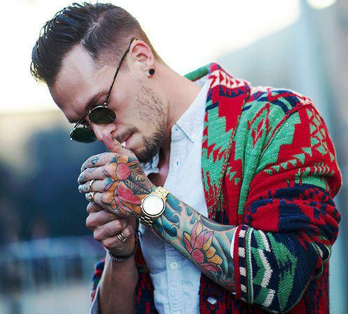 Татуированные Мужчины | Tattooed Man