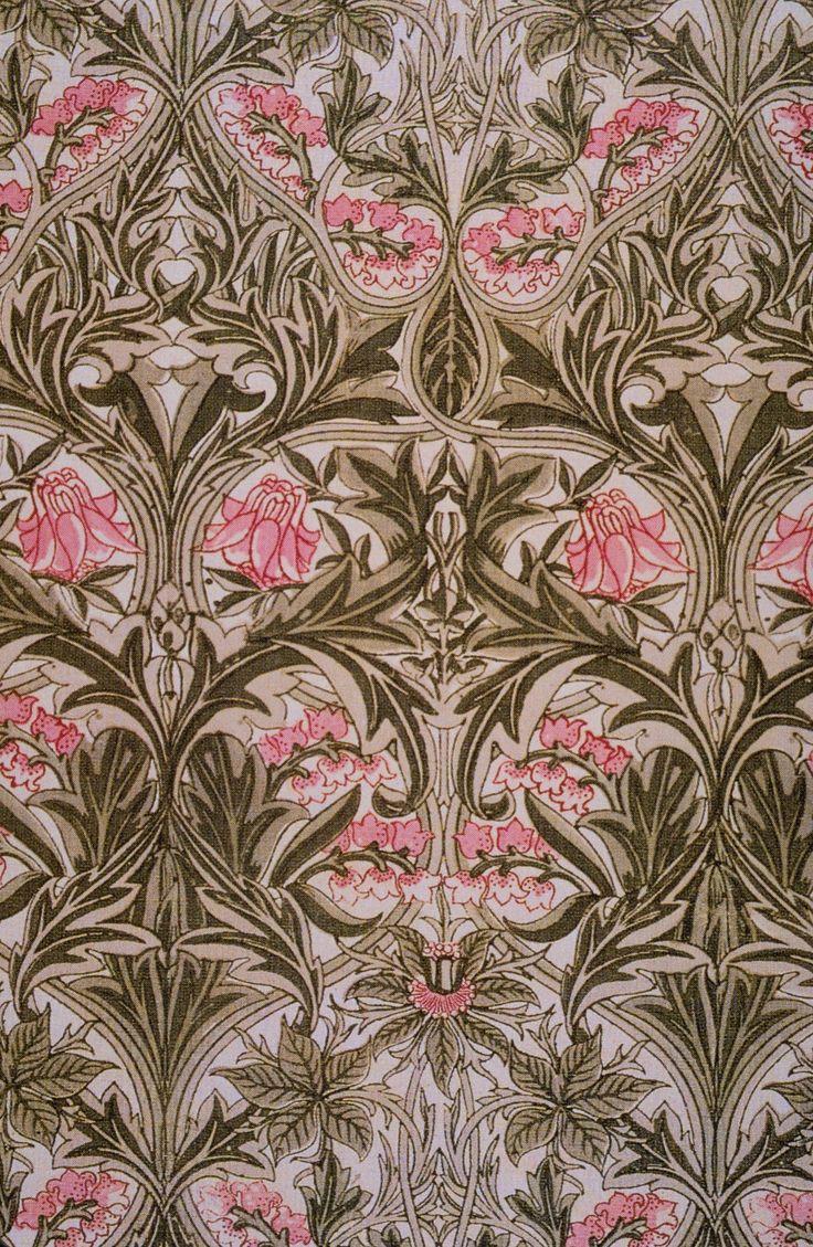 72 best images about Art Deco & Art Nouveau Fabric ...