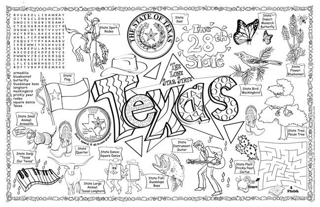 All Worksheets » Texas Symbols Worksheets - Printable Worksheets ...
