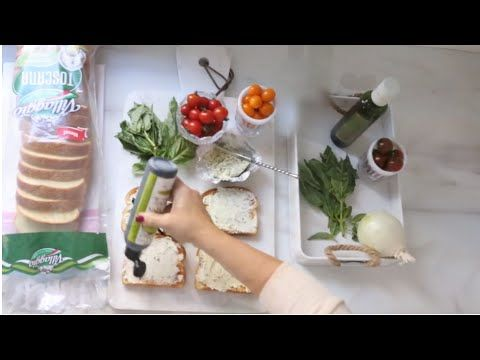 Watch Monika Hibb's create her Villaggio® Toscana Bruschetta with Cream Cheese!