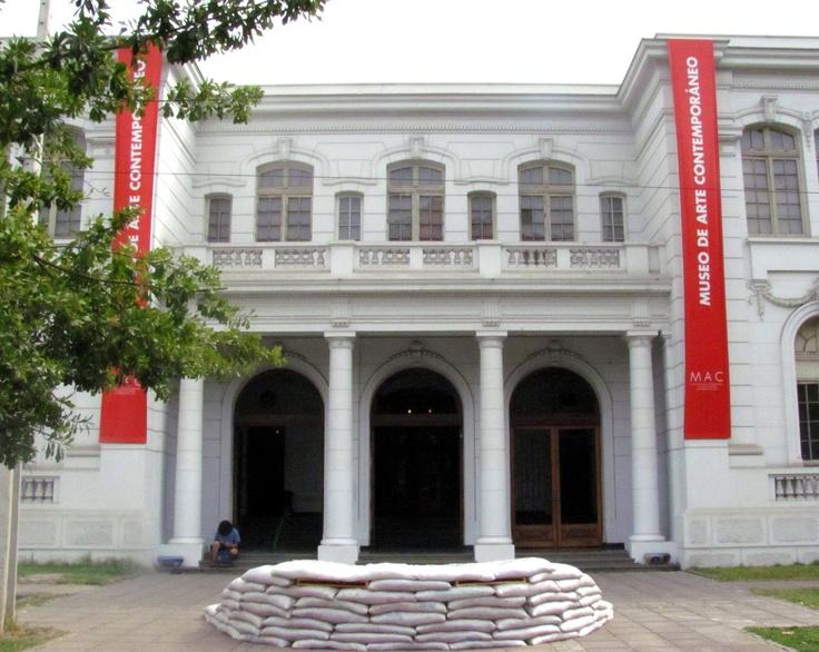 Museo de Arte Contemporáneo Santiago de Chile.