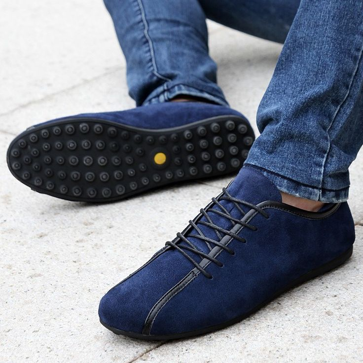 Bardouilles....Shop with us! Aleader Nubuck Leather Men Shoes New 2015 Fashion  Loafers Flats zapatillas