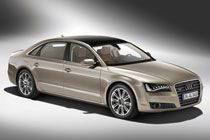 """Audi A8 -- There was a time when the Audi A8 L was considered a """"me-too"""" product, not the image you'd like to have in this class of car. The new Audi A8 L however, has succeeded in giving the competition a bloody nose. It has everything a luxury car buyer could want or expect, and all at a price which makes it exceedingly good value. #Audi #A8 #AudiA8"""