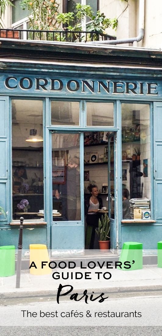 A Food Lovers' Guide to Paris. The Boot Café | eatlittlebird.com
