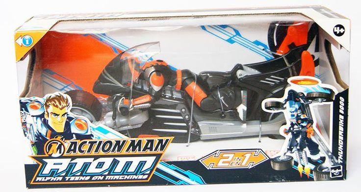 Action Man - Thunderbike 3000  Hasbro  Action Man www.detoyboys.nl