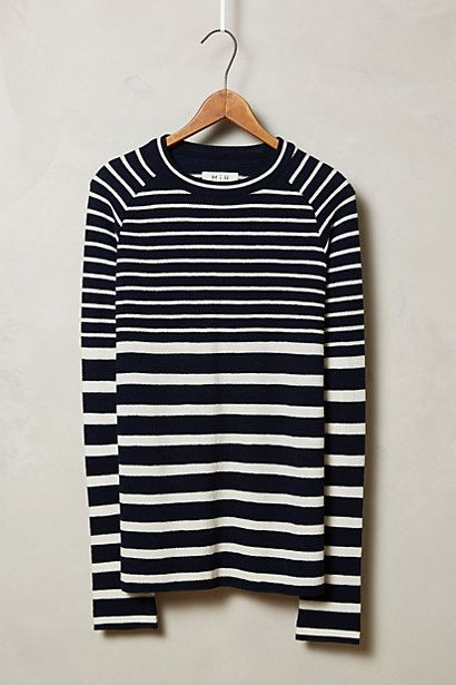 Mixed Stripe Pullover by MiH #anthroregistry