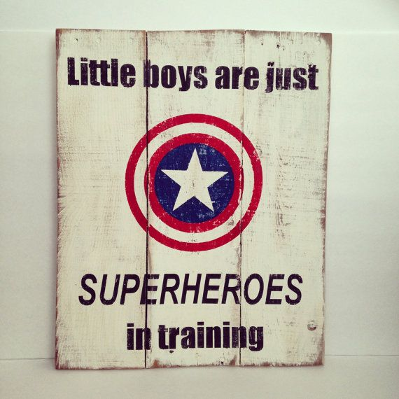 Add to your classic superhero decor with this Vintage Superhero wood sign. It measures 16 Wide x 20 Tall. It is painted with matte white for
