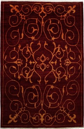 chobi ziegler red modern carpet cs m700359300 x 210 cm 10 39 x 7 39 ft carpetsanta chobi. Black Bedroom Furniture Sets. Home Design Ideas