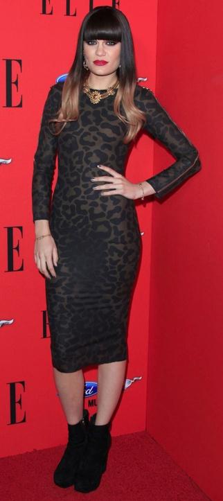 Jessie J in Luxury Latex dress by Louis Heal.
