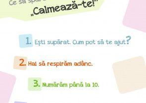 Copil calm