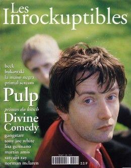 Portada de Les Inrockuptibles del mes de mayo de 1994. Neil Hannon entrevista a Jarvis.