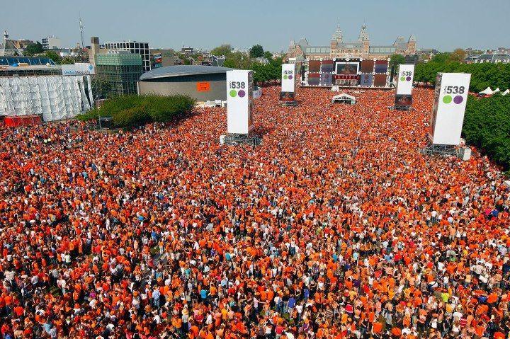 Koninginnedag Amsterdam